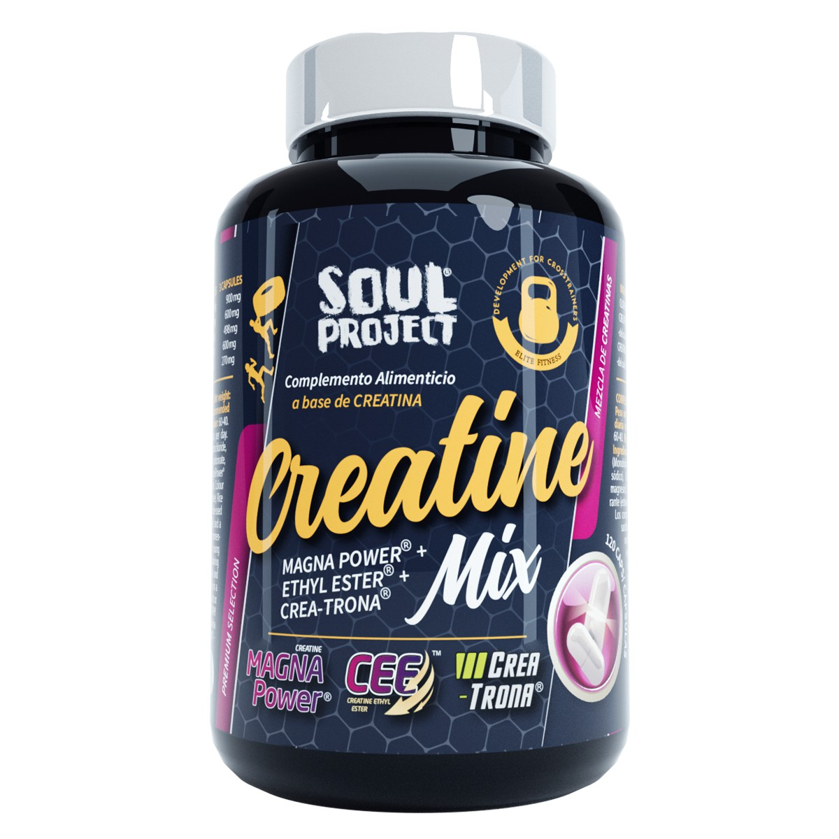 CREATINE MIX PRE-ENTRENAMIENTO Soul Project