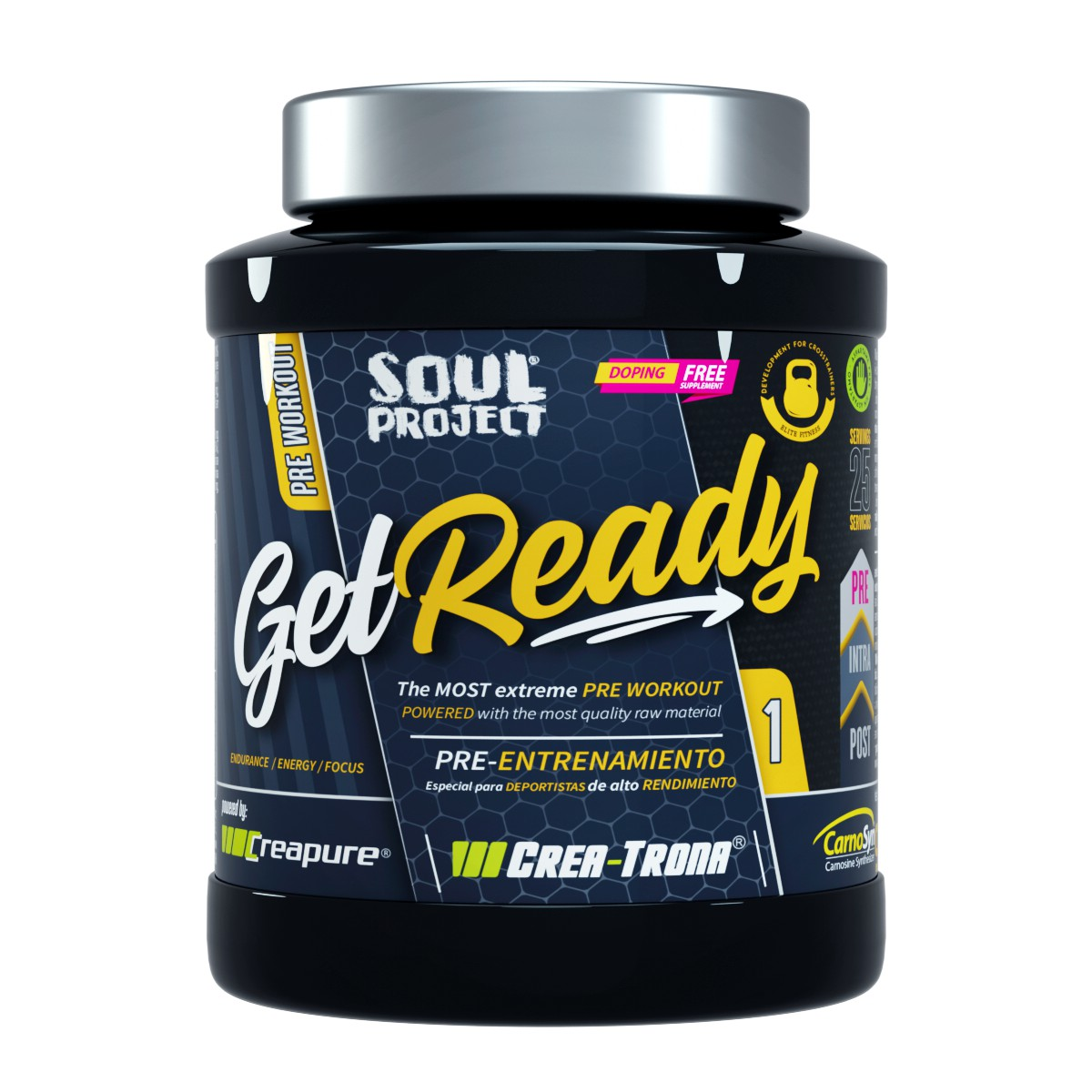 GET READY PRE-TRAINING PRE-ENTRENAMIENTO Soul Project