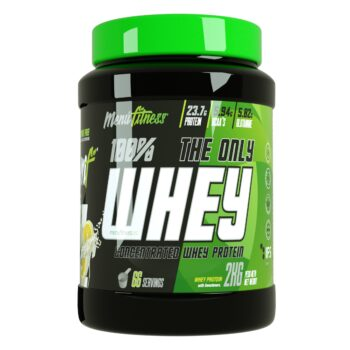 THE ONLY WHEY PROTEINA Menu Fitness