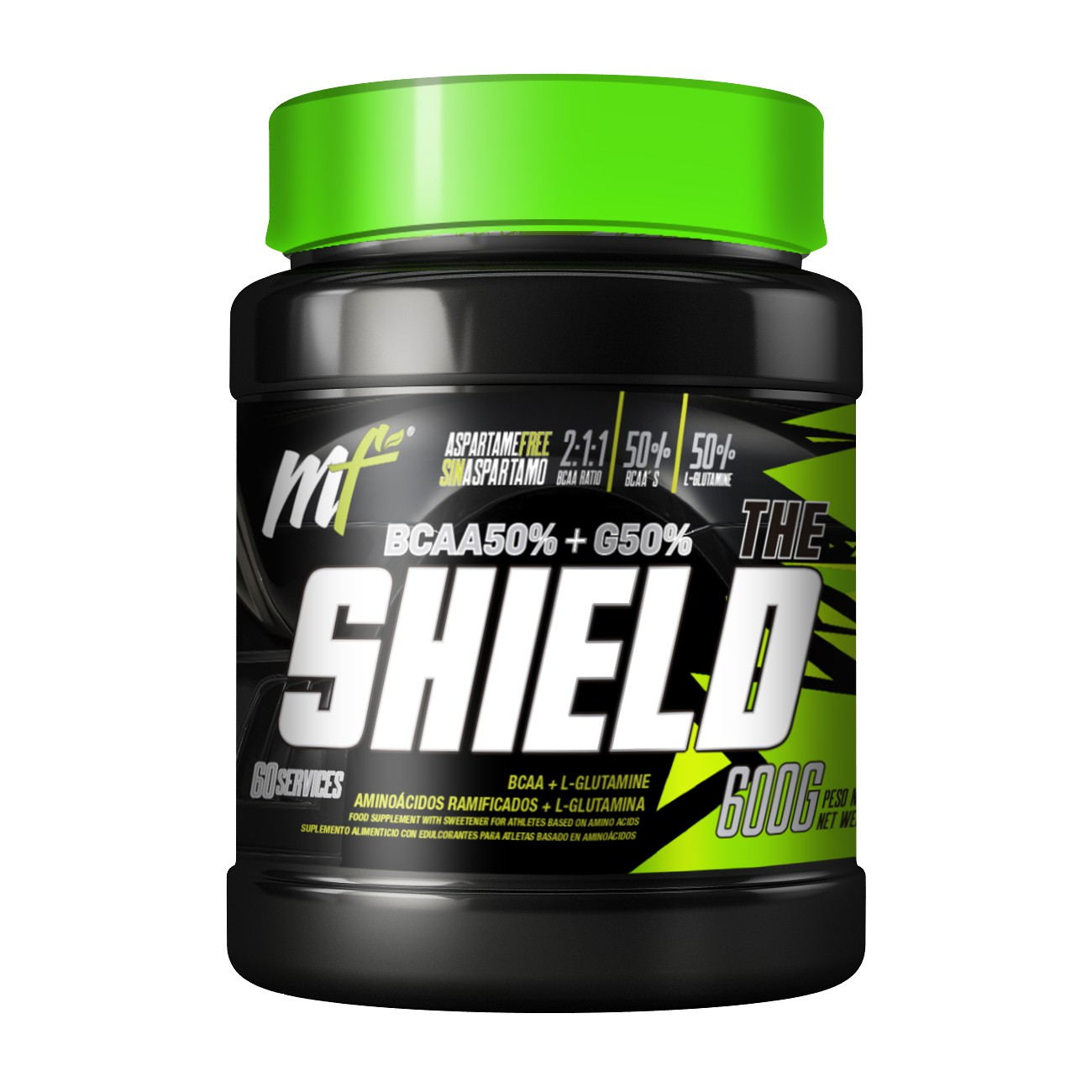 THE SHIELD BCAA   GLUTAMINE AMINOACIDOS Menu Fitness