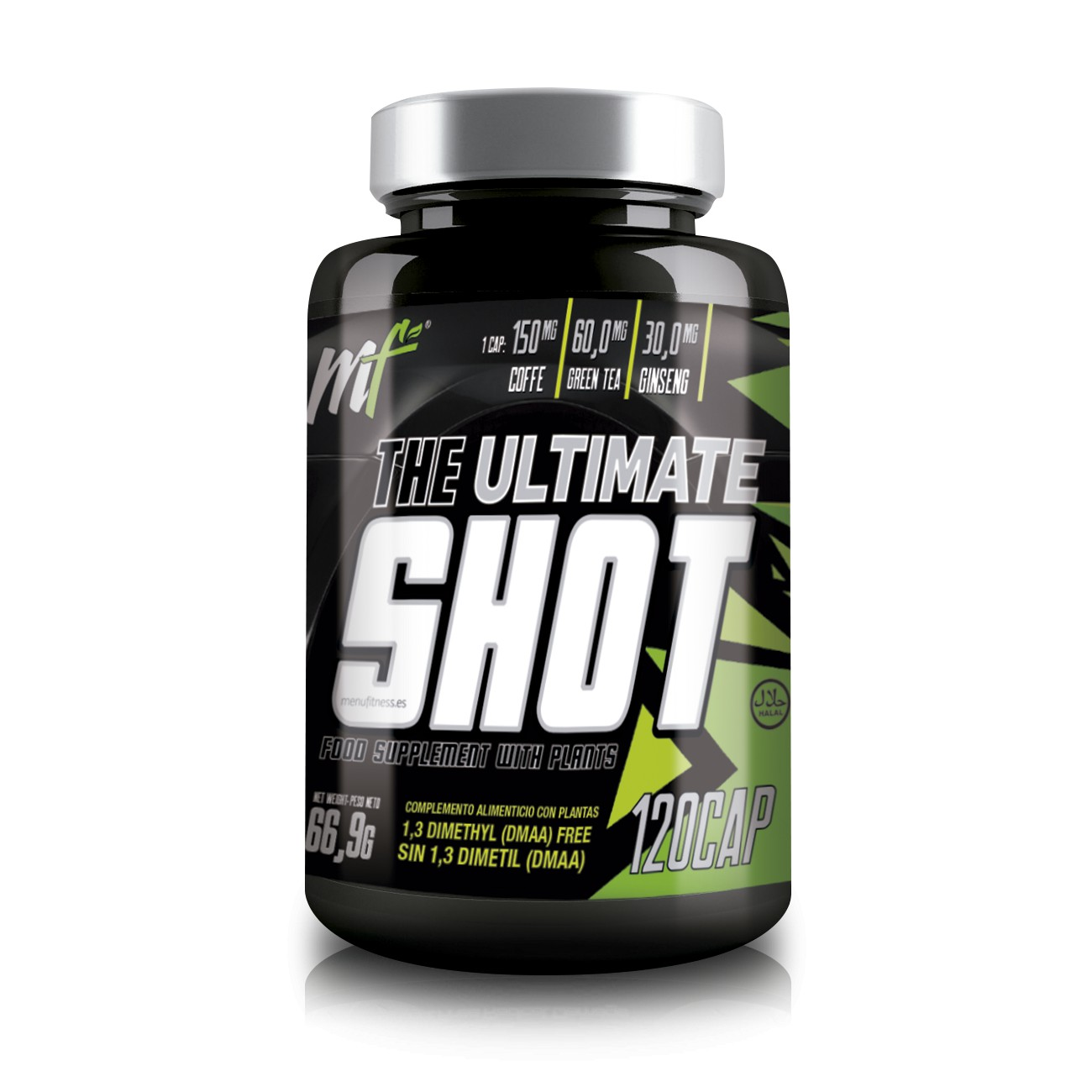 THE ULTIMATE SHOT FAT BURNER QUEMADORES DE GRASA Menu Fitness