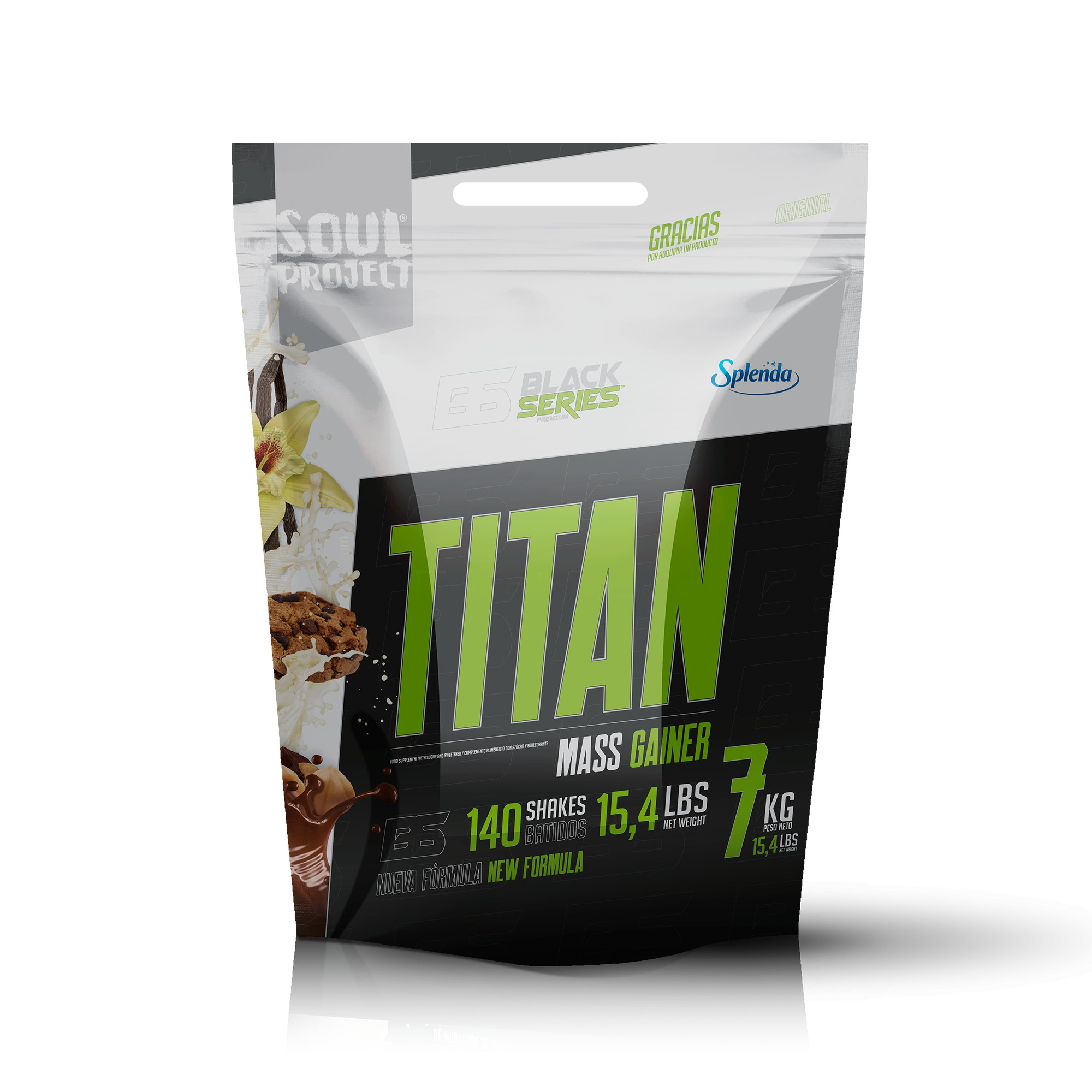 TITAN GAINER HIDRATOS DE CARBONO/GAINER Soul Project